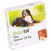 Drontal Plus flavour tbl.2 35 kg a.u.v. + ZDARMA Sada náplastí s polštářkem 5 kusů