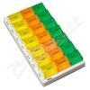 Dávkovač léků týdenní barevný 03 OBZOR