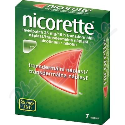 Nicorette Invisip.25mg/16h drm.em.7x25mg