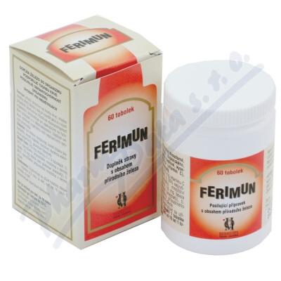 Ferimun s obsahem přírodn.železa tob.60